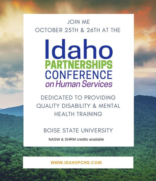 Idaho Partnership conference promo flyer