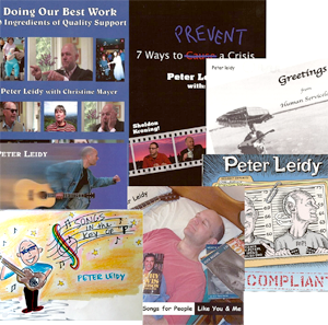 Peter Leidy CD and DVD bundle