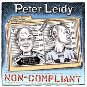 "CD cover for ""Non-Compliant"""